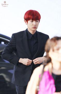 Baekyeol, Chansoo, Chanbaek, Park Chanyeol, Baekhyun, Funny Tumblr Posts, Pop Group, Red Hair, Hair Color