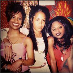 Aaliyah with Kandi Burress of Xscape & rapper Foxy Brown Mode Old School, New School Hip Hop, Rip Aaliyah, Aaliyah Style, 90s Hip Hop, Hip Hop And R&b, Christina Aguilera, Jennifer Lopez, Rihanna