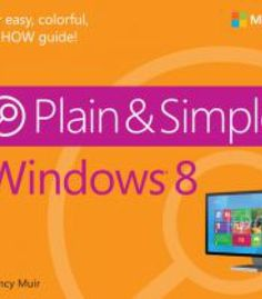 Windows 8 Plain & Simple PDF