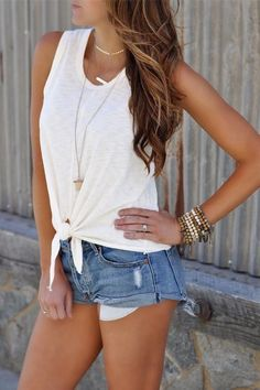 Perfect outfit idea to copy ♥ For more inspiration join our group Amazing Things ♥ You might also like these related products: - Jeans ->. Summer Outfits Women 20s, Classy Outfits For Women, Cute Summer Outfits, Short Outfits, Outfits For Teens, Stylish Outfits, Beautiful Outfits, Summer Clothes For Women, Spring Outfits For Teen Girls