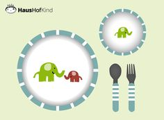 Geschirr für die Kids - wie bringe ich meinem Kind mit Spaß das Essen bei?