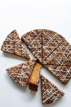 pecan coconut shortbread cookie