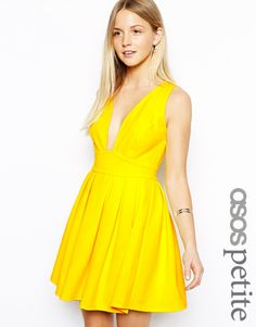 yellow dress - front