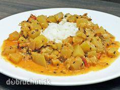 Fotorecept: Cuketové indické curry