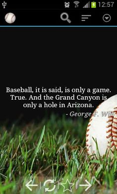baseball quotes | Baseball Quotes Game for Android | DroidMill