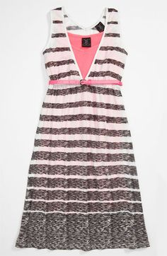 W Girl Belted Maxi Dress (Big Girls) available at #Nordstrom