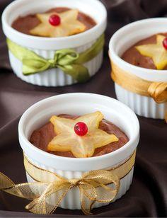 mousse de chocolate e laranja - Sabores de Canela