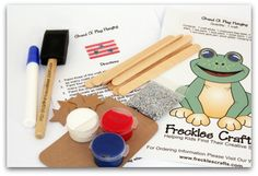 Ready-to-go craft kits to keep on hand or give as gifts. Alexis will love this.