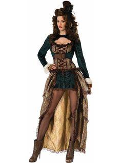 0b0aa3993062 Maskeraddräkt Sexig Steampunk för henne. De roligaste   Funidelia  Viktoriansk Steampunk, Steampunk Kläder,
