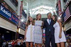 John Kasich with family