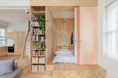 those doors / The fabulous Flinders Lane Apartment