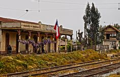 Train Stations, South America, Nostalgia, The World, Train, War Of The Pacific, Old Photography, Bicycle Kick, Historical Photos