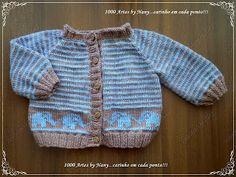 Χειροτεχνήματα: Παιδικά πλεκτά ζακετάκια - Hand knitted baby sweaters
