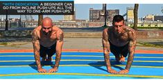 Bodybuilding.com - Bodyweight Bodybuilder: From incline push-ups all the way to one-arm push-ups
