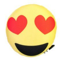 Confetti and Friends Emoji Double Sided Squishy Autograph Pillow