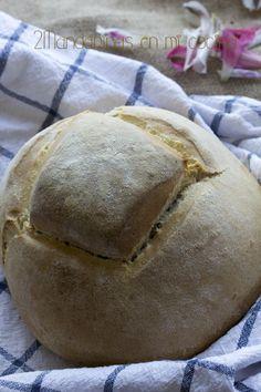 2Mandarinas en mi cocina: Pan milagro con Thermomix #pan Pan Milagro, Thermomix Bread, Sauces, Pan Bread, Sin Gluten, Pain, Bread Recipes, Crock, Blog