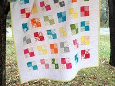 Make your next quilting project simple — and speedy — with one of these straightforward square quilt designs. You can download them all for FREE!