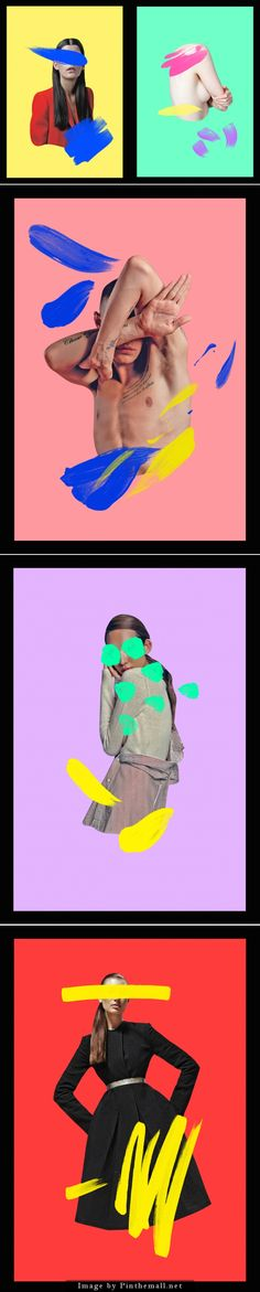 Colorful Strokes Fashion Series
