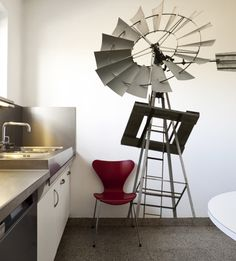 Streetwallz - Windmill Wall Decal, $194.31 (http://www.streetwallz.com/windmill-wall-decal/)
