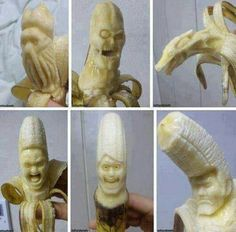 Banana art by Cozmo.