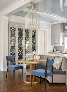 South Shore Decorating Blog: Drop-Dead Kitchens Add Mirror instead of glass
