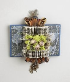 Shield Book: Relic of Resolve by Sharon McCartney; altered book