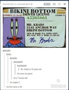 Meet Mr. Krabs