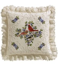 Janlynn Birds And Berries Candlewicking Embroidery Kit