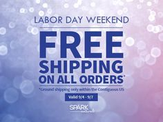 FREE Shipping from Spark Naturals all weekend! Plus get an extra 10% off your order with the coupon code: thenomadlife