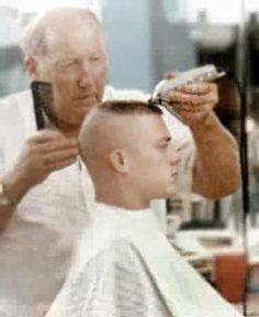 Long High and Tight Flattop | Barber/haircuts | Pinterest