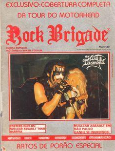 Humor involuntário: as resenhas de discos publicadas pela Rock Brigade durante a década de 1980! Nos bons tempos, em que o fanzine ainda não havia cedido às pressões do sistema.