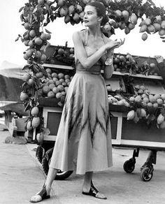 Louise Dahl Wolfe for Haper's Bazaar 1951