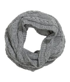 Cable-knit Tube Scarf | Product Detail | H&M
