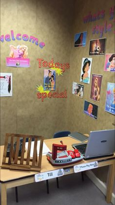 Hair salon and nail bar role play area | But the children ...