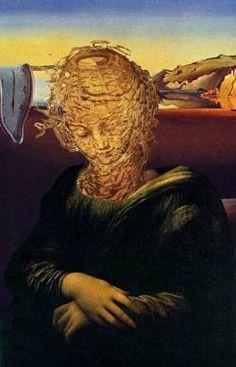 Dali's Mona-- Mona Lisa Parodies #Joconde