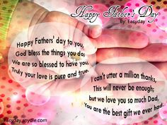 Happy Fathers Day WhatsApp Status Messages, Sms, Msg, Wishes Greetings 2014 Fathers Day Msg, Happy Fathers Day Message, Best Fathers Day Quotes, Happy Fathers Day Images, Dad Poems, Fathers Day Messages, Fathers Day Wishes, Wishes Messages, Msg For Husband