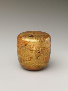 SADO...NATUME.... 松 竹 梅 Design of Pine, Bamboo, and Plum Blossom. Edo period (1615–1868)