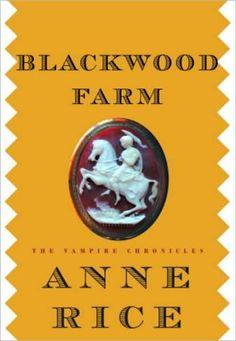 My favorite Anne Rice book.