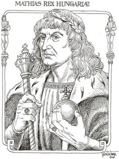 Hunyadi Mátyás (Kolozsvár, 1443. február 23. – Bécs, 1490. április 6.) European History, World History, Art History, Matthias Corvinus, Coloring Books, Coloring Pages, Colouring, Capital Of Hungary, Defender Of The Faith