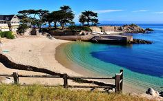 Lovers Point Cove in Pacific Grove, CA
