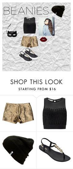 """Don't Let Them See Me"" by candacemouton ❤ liked on Polyvore featuring Michael Kors, Miss Selfridge, Vans, IPANEMA, Lime Crime and H&M"