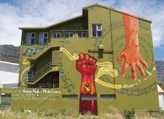 Grasping hands... Street Wall Art, Street Art Graffiti, Urban Art, South Africa, Pop Art, Outdoor Decor, Hands, People, Art