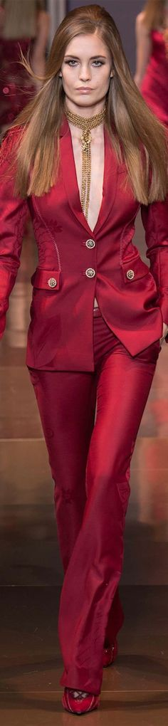 LOOKandLOVEwithLOLO: FALL 2014 READY-TO-WEAR featuring VERSACE