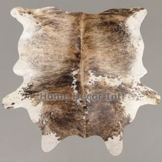 This cowhide is a one of a kind cowhide rug! furrugs.com
