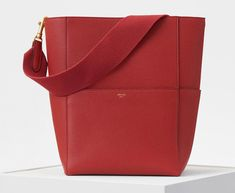 9249cdfdf6 Seau Sangle Bag in Soft Grained Calfskin - Fall   Winter Collection ...