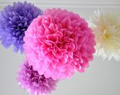 These Tissue Pom Poms are in EVERY nursery pic I see...but seriously -- all I see are huge dust collectors!  Please let me know if these cute things are worth it!