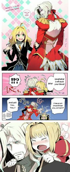 Nero and Vlad Outfit Swap
