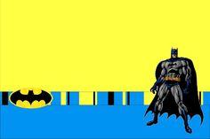 Batman Free Printable Invitations.