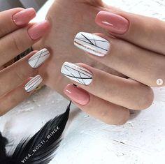Best Nail Art - 61 Best Nail Art Designs for 2019 - Nägel - Nageldesign Pretty Nail Colors, Pretty Nail Designs, Pretty Nail Art, Best Nail Art Designs, Cool Nail Art, Easy Nail Art, Diy Nails, Cute Nails, Gel Nagel Design