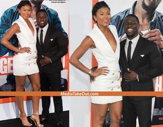 COUPLE'S NIGHT!! Some Of Hollywood's HOTTEST COUPLES . . . Attended The Premiere Of Kevin Hart's New Movie GET HARD!! (TI And Tiny, Draya Ad Her NFLer, Plus LOTS More)